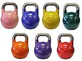 Ader Pro-Grade Int'l Kettlebell Set- (8, 12, 16, 20, 24, 28, 32kg)